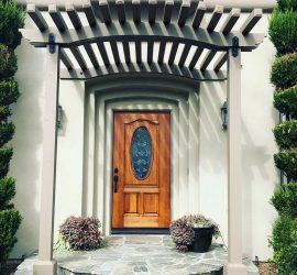 Extravagent Home Front Door Completed