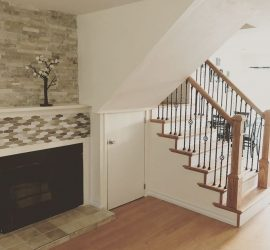Fireplace Stairs